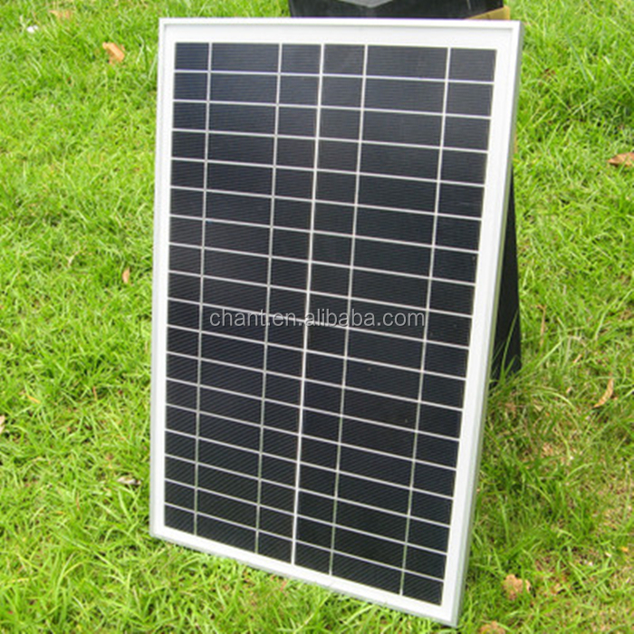 30W poly photovoltaic pv solar panel module price