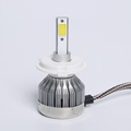 Newest Arrival!! 30W 3000LM fanless C1 LED Headlight H13 H7 H4 COB Car Headlight