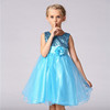 India Boutique wholesale Girl Fashion Dress Princess Wedding Party Dresses L-100