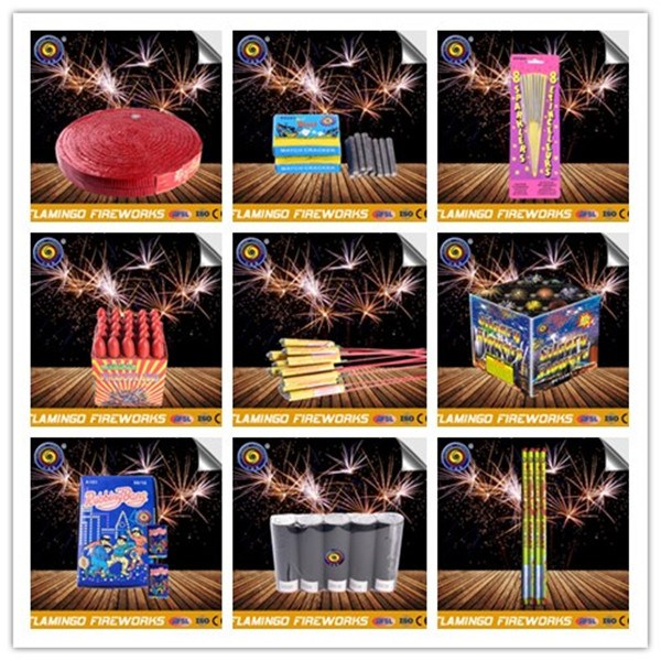 Wholesale china party display shell,pyrotechnics,poppers,roman candle,sparklers,Missile,fireworks