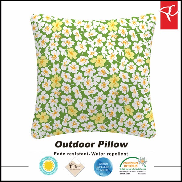 inflatable water pillow printed fabric throw pillow wholesale