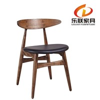 Classical Furniture Wood Y Chair Round Wood Kennedy Chair Cafe and Restaurant Chair FD14B3