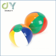"Custom China manufacturer high quality Inflatable 12"" Rainbow Color Beach Balls PVC inflatable beach ball"