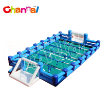 Adults Inflatable soccer field inflatable human foosball for kids