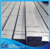 GP Pipe / Galvanized Rectangular Steel Tube