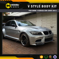 E90 V style wide Body kit for BMW 2005-2011 new 3Series 320i-E90-4DR-Style sport bumper kits