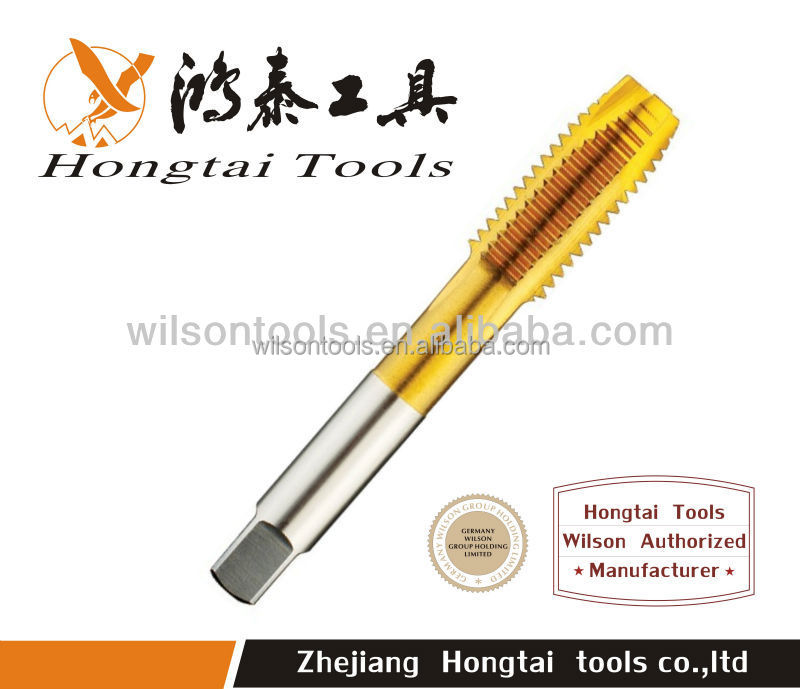 screw threads high toughness machine taps , other brands cutting tools