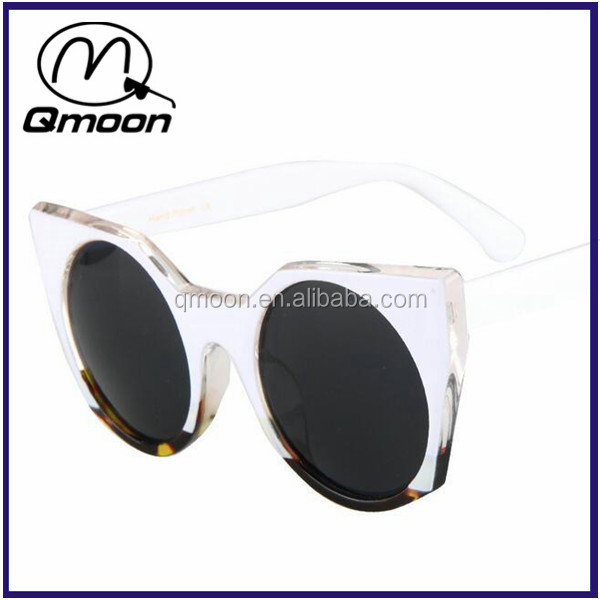 Qmoon 2016 Mirror Sunglasses Oculos de sol UV400 shades eyewear sunglasses