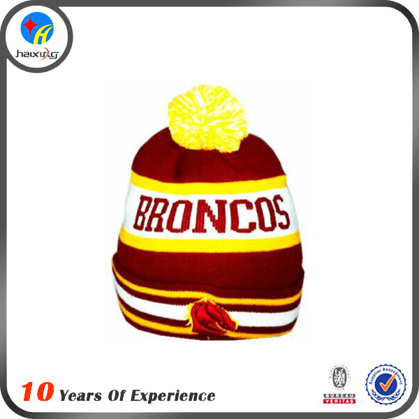 Fashion Style Embroidered Logo Beanie For Men