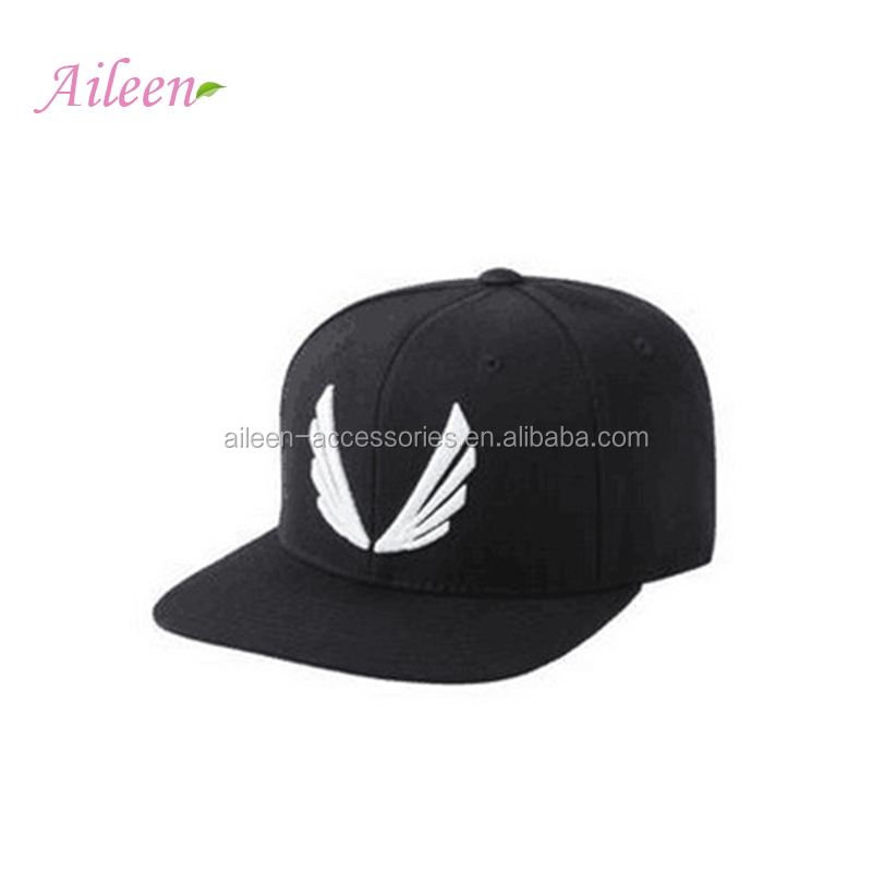 Hot sell wings embroidery snapback hats