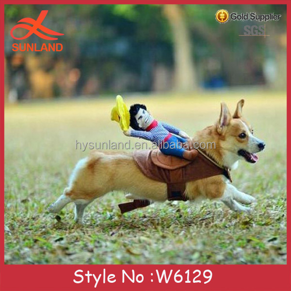 W6129 New fashion wacky cowboy luxury dog clothes dog clothes uk matching dog and owner clothes