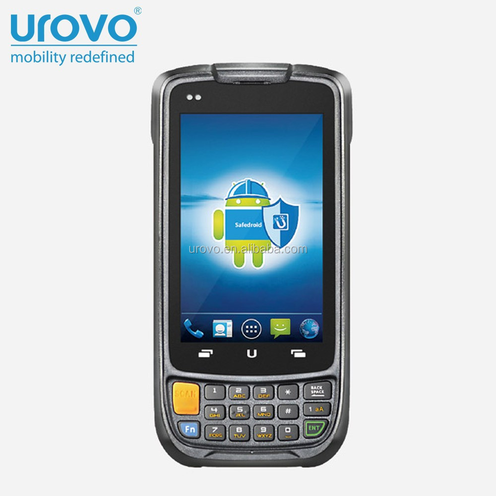 Android handheld barcode scanner.portable scanner.qr code barcode scanner. Urovo i6200s Data terminal