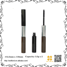 Double end wholesales petg special mascara tube bottles