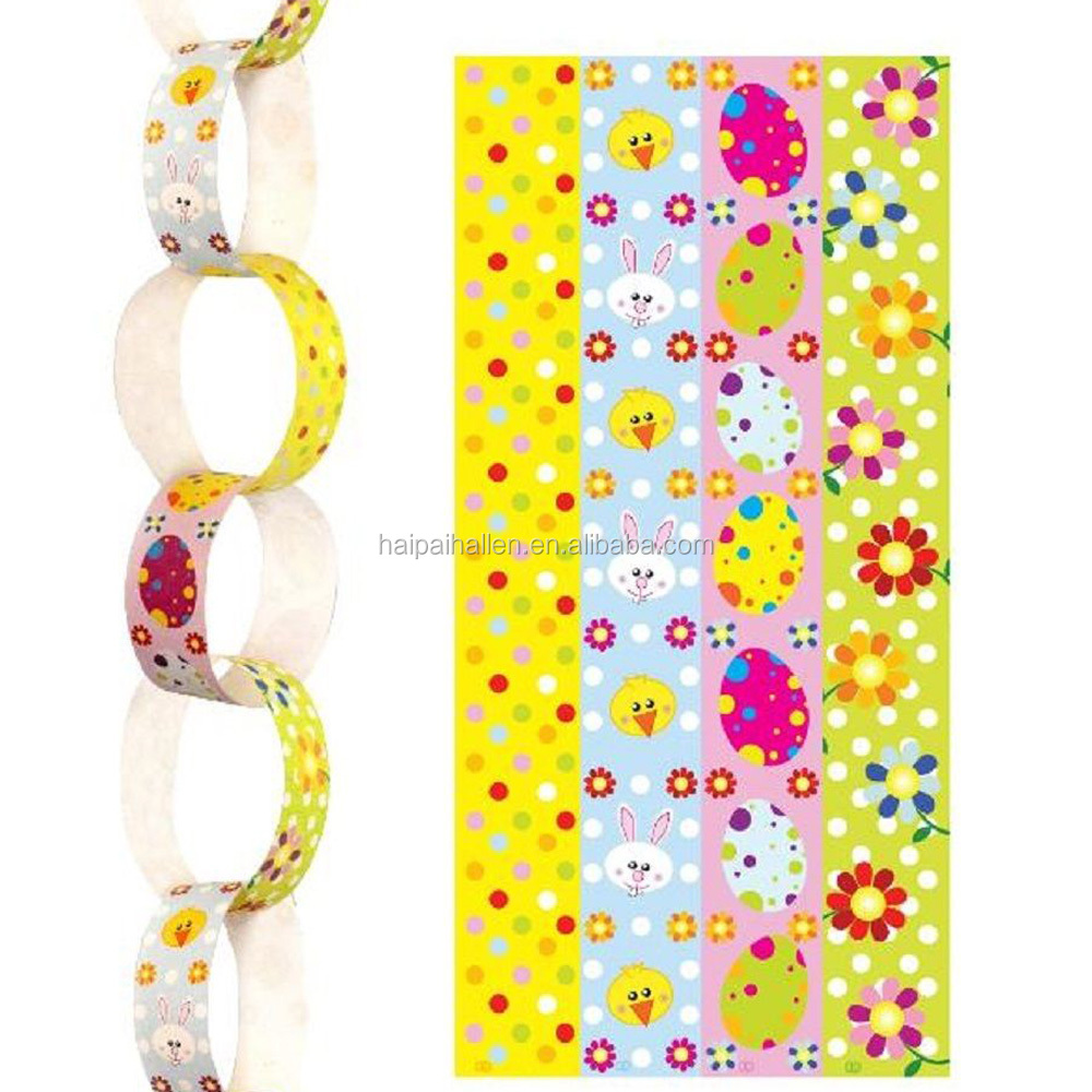 DIY Paper Chain Kit Decor Assorted Colours Baby Shower Birthday Party
