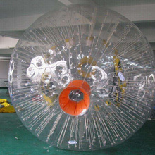Durable Customized PVC material inflatable zorb ball for sale
