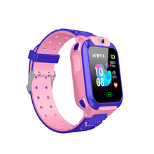 YQT Children SOS Emergency Calling GPS kids smart watch Tracker GPS smart baby watch for kids -Q12