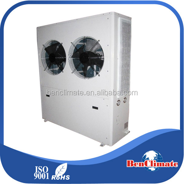 Precise temperature control vertical type flower factory air condenser