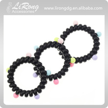 Contracted large black phone line hair bands,High quality hair accessories