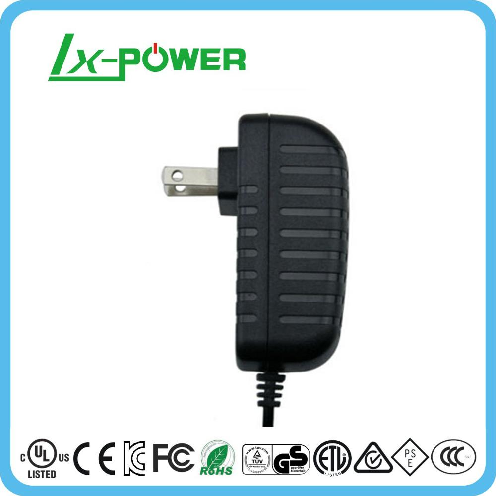 6w USA plug power adapter 12v 500ma level VI 6 UL certification energy saving