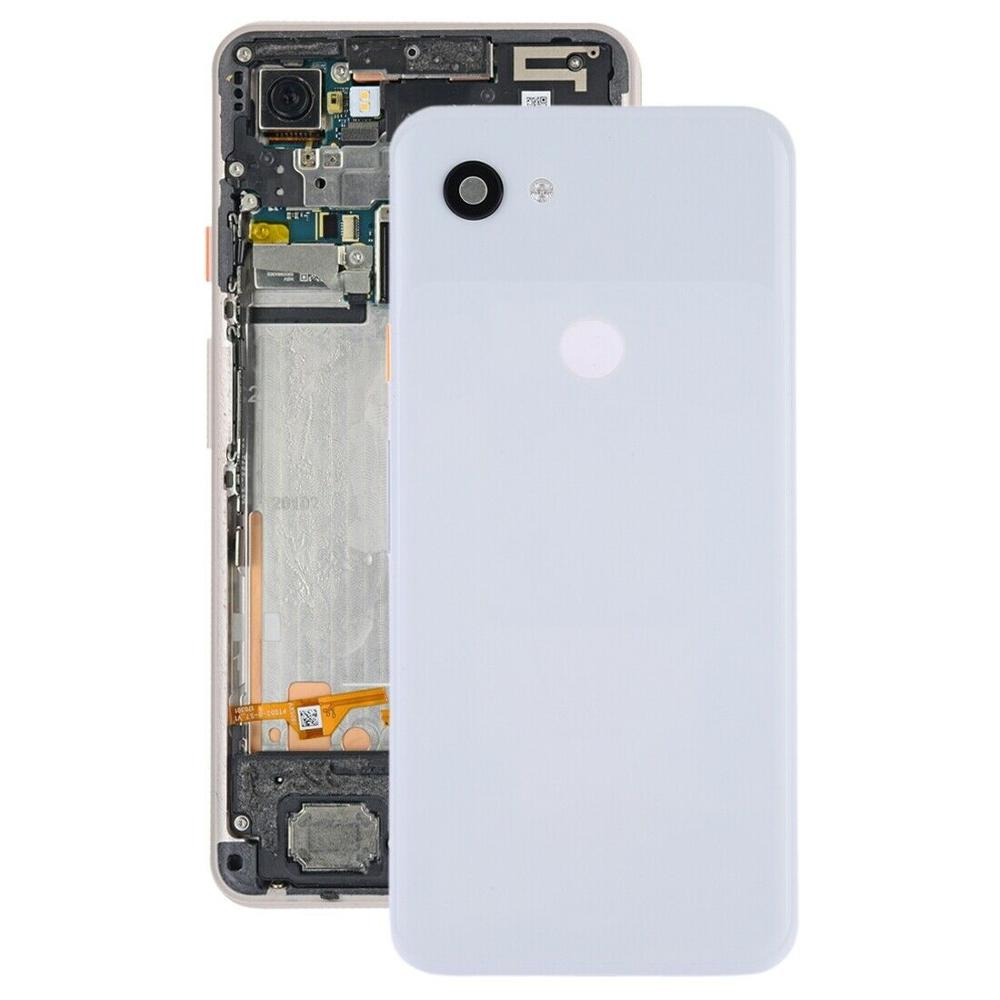 for Google Pixel 3A Battery Back Cover <strong>w</strong>/ Camera Lens &amp; Side Keys