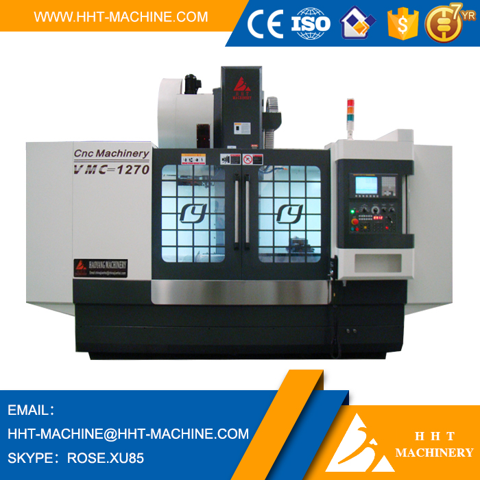 VMC1060 Mini CNC Milling Machine Used Japan Fanuc Controller System
