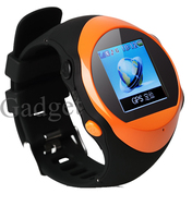 colorful touch screen kids smart watch GPS Wrist Watch tracker 3G Support Online GPS Tracking Watch