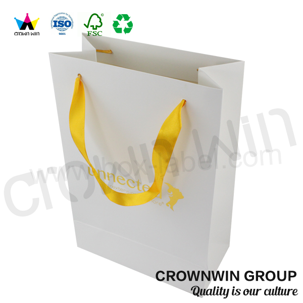 Die Cut Custom Present Raw <strong>Materials</strong> of Paper Bag Wholesale