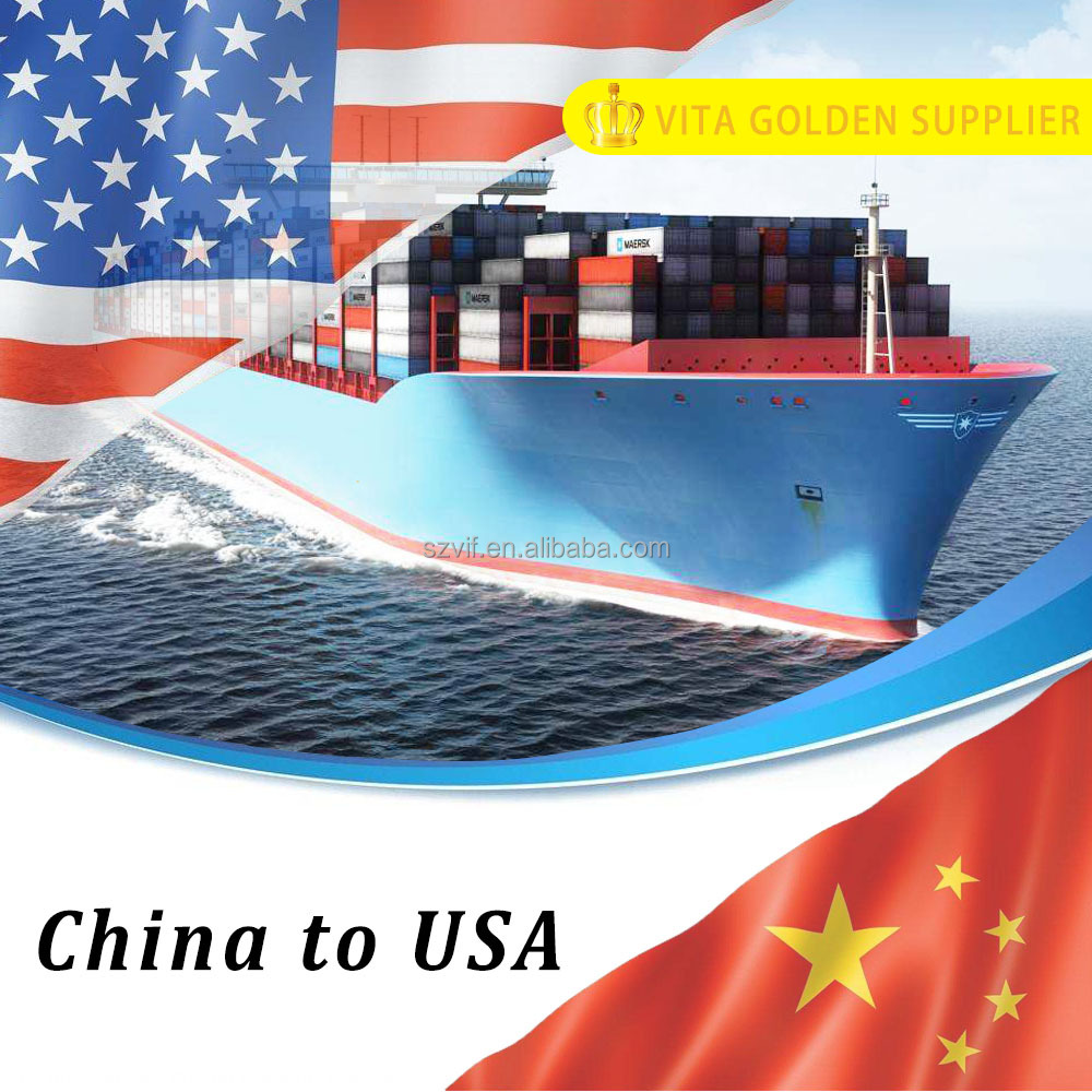 LCL/FCL Door to door ocean freight forwarder from Shanghai China to Miami USA
