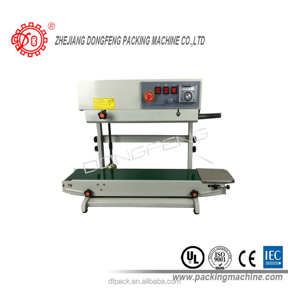 dual model vertical/horizontal continuous band sealer DBF-770WL SPRAY
