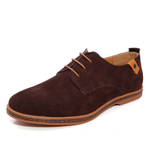 z10065aa big size 38-48 men leather shoes men comfortable hot sell casual shoes best sell suede shoes men