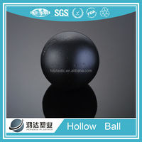 Plastic hollow rubber bouncing balls from China manufacturer