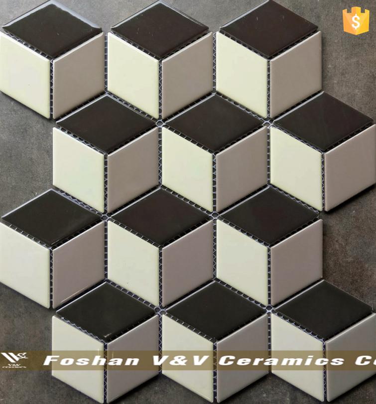 Diamond Shaped CubeDiamond Mosaicd Tile Buy Diamond Shaped Cube - Diamond shaped tile flooring