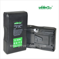CAMERA BATTERY LED indication video light use V-mount 130Wh anton bauer camera battery