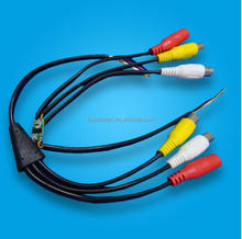 Car camera tail cords and leads from professional custom cable assembler