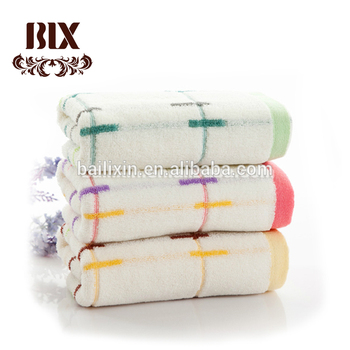 Wholesale custom cambodia 100% cotton adults face towel with carton in China