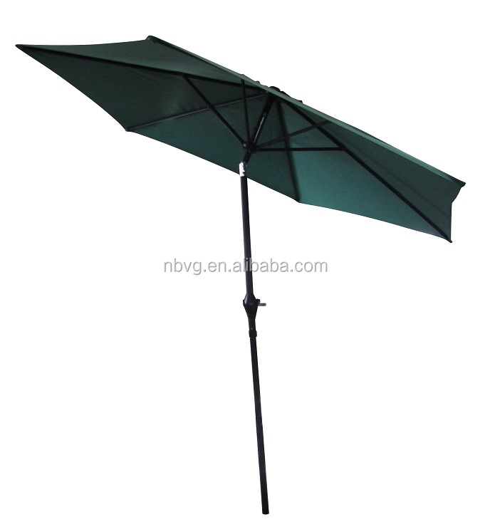 Outdoor Aluminum Pole Market Promotion Garden Umbrella