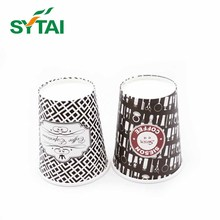 Pe coated soda cold drinks single wall party paper cups for coffee or tea