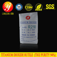 Liangjiang chem new product rutile titanium dioxide R218 with high purity, sulfuric acid, liquid titanium dioxide