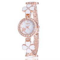 Design business lady clover bracelet watch Korean student diamond casual fashion quartz watches