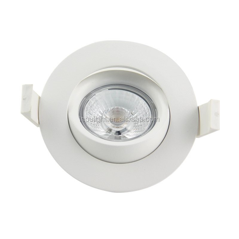 Hot sale dimmable recessed round 9w led downlight ip44 cutout 83mm NEMKO