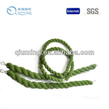 green twisted rope / twisted polyester rope / twisted poly rope