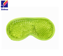 Soft feel cool gel freezer gel eye mask for hot sale