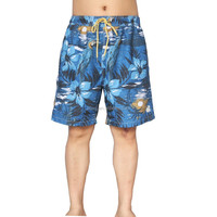 100% microfiber twill polyester men brand board swim shorts
