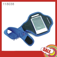 high quality Anti-bacterial Lycra sport armband jogging case for iphone 4s