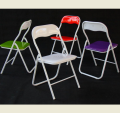 HE-056B,High Shine metal folding chair/dinning folding chair