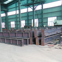 High Quality Structural Steel H Section Column Welded H beam
