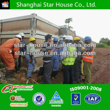 20ft container weight dismountable house