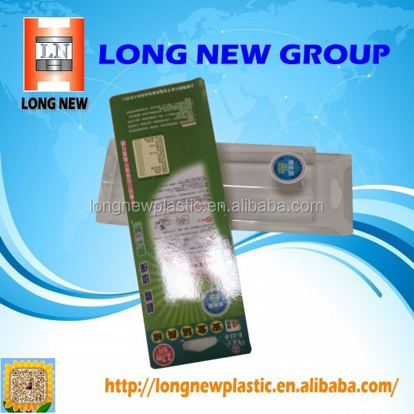 empty 5 layers plastic laminate toothpaste tube packaging box