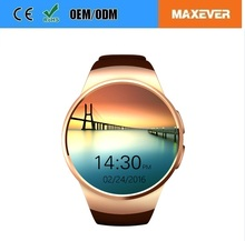 Dedicated Wholesales OEM Round IPS Touch Screen KW18 BT4.0 Mobile Connection Smart Watch Phone