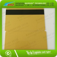 Data Card - HiCo Mag Stripe card / pvc plastic 3-Track High Coercivity (HiCo) Magnetic card